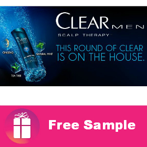 Free Sample Clear Men Scalp Therapy