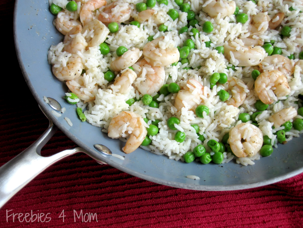 Shrimp & Rice ready to stuff into the Peppers #SauteExpress #cbias #shop