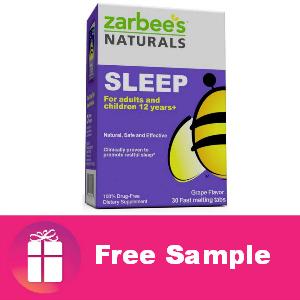 Freebie Zarbie's Naturals Sleep