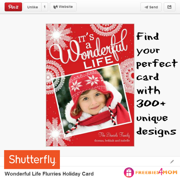 Wonderful Life Holiday Card