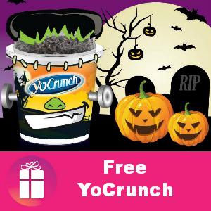 Free YoCrunch Yogurt