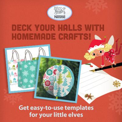 Nestle Holiday Crafts