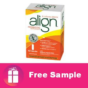 Free Sample Align Probiotic