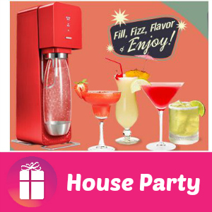 Free House Party SodaStream Happy Hour