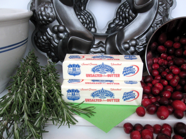 Butter for Pomegranate Rosemary Butter Cake #HolidayButter #shop