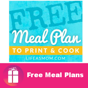 Free Printable Meal Plans & Grocery Lists