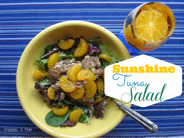 Sunshine Tuna Salad with #OceanNaturals #cbias #shop