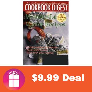 Deal $9.99 for Cookbook Digest Magazine