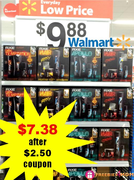 Axe Gift Packs $7.38 at Walmart