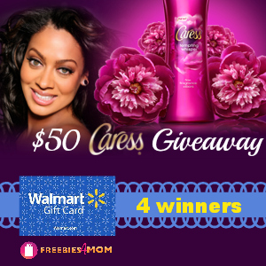 Caress Body Wash Giveaway
