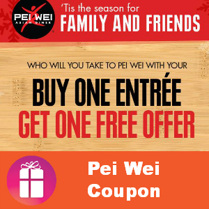 Pei Wei Coupon