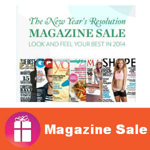Magazine Monday Sale: New Year's Resolutions
