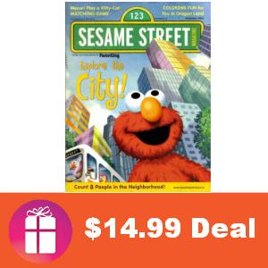 Deal $14.99 for Sesame Street Magazine