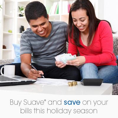 Buy 3 Suave, Get $5 off Utilities