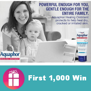 Dr. Oz Aquaphor Giveaway 2 pm CT *First 1,000*