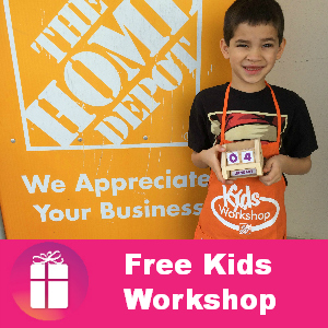 Free Home Depot Kids Workshop Feb. 1