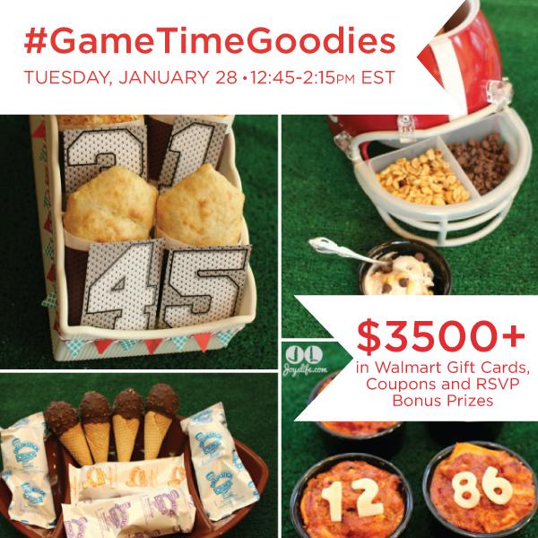 #GameTimeGoodies Twitter Party Jan. 28 #shop