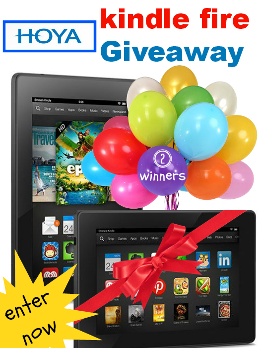Win a Kindle Fire from Hoya