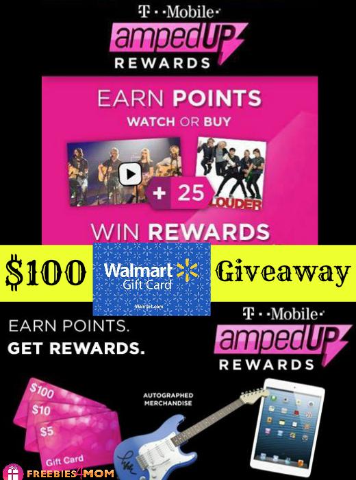 $100 Walmart Soundcheck Giveaway
