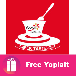 Free 2 cups of Yoplait Greek Yogurt