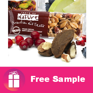 Free Taste of Nature Snack Bar