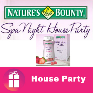 Free House Party: Nature's Bounty Spa Night