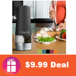 $9.99 Wolfgang PUck Salt & Pepper Mill Grinder