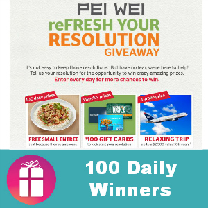 Sweeps Pei Wei Refresh Your Resolution
