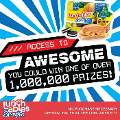 "Lunchables with Smoothie ""Access to Awesome"""