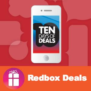 10 Days of Redbox Deals
