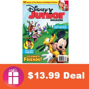 Deal $13.99 Disney Junior Magazine