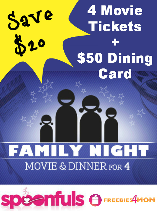 $50 Family Movie Night Deal