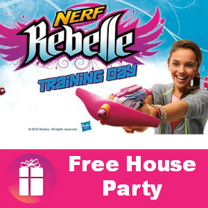 Free House Party: NERF Rebelle Training Day