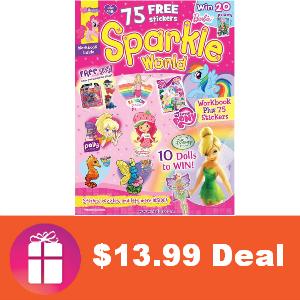 Deal $13.99 for Sparkle World Magazine