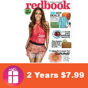 Deal 2 Years of Redbook $7.99 (36 cents/issue)