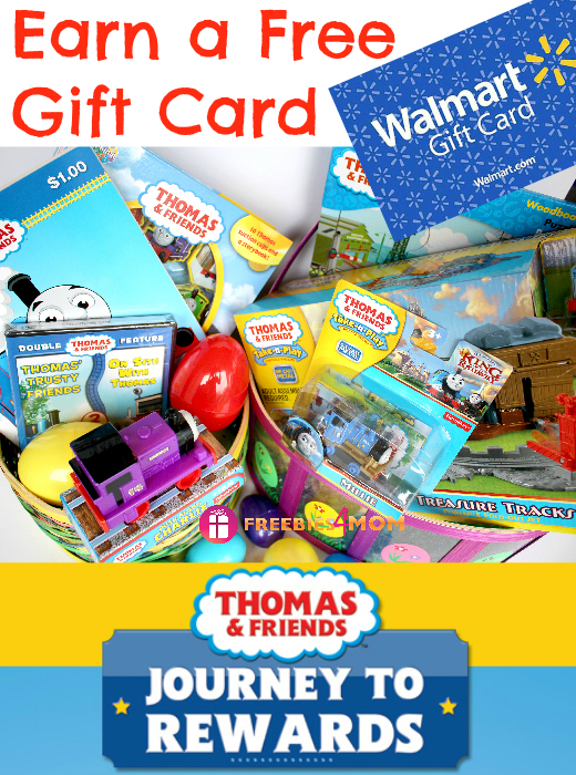 Buy Thomas & Friends at Walmart & Earn a Free Gift Card