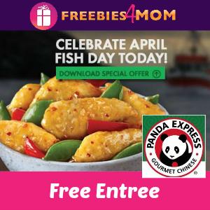 Free Entree at Panda Express April 1