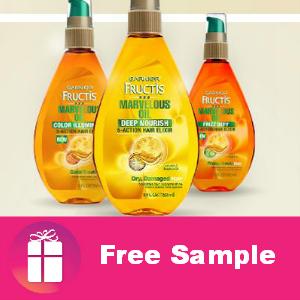 Free Sample Garnier Marvelous Oil