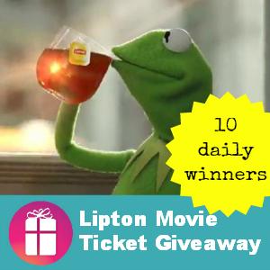 Lipton Movie Ticket Giveaway