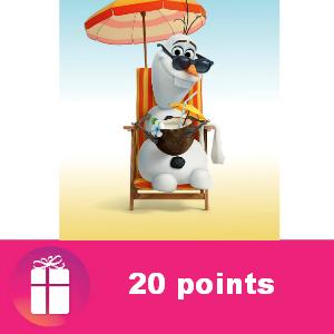 20 pts Disney Movie Rewards