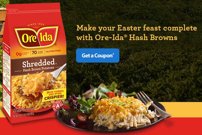 Ore-Ida Shredded Hash Brown Potatoes Coupon