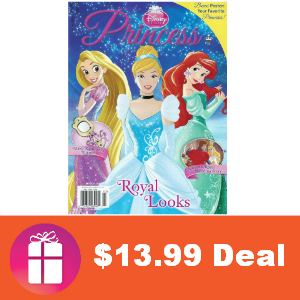 Deal $13.99 Disney Princess Magazine