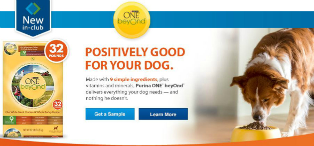 Free Sample Purina ONE beyOnd®