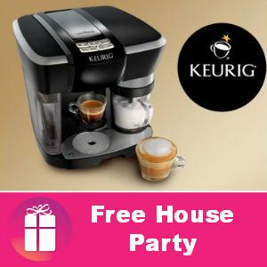Free House Party: Keurig Rivo