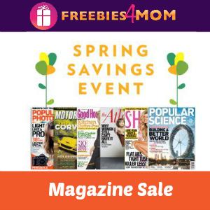 Deal $4.80 Spring Magazine Sale