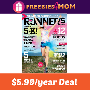 Magazine Deal: Runner's World $5.99