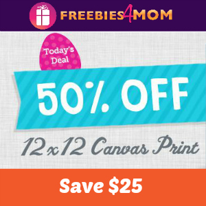 50% off 12x12 Canvas Print