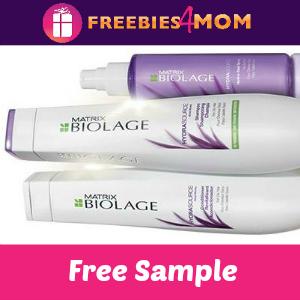 Free Sample of Biolage Hair Care