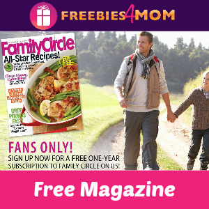 Free Family Circle Magazine (12 issues)