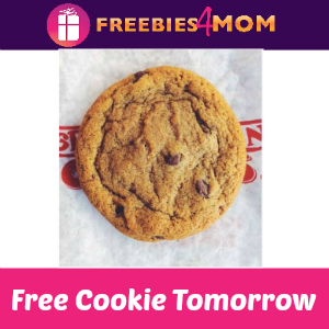 Free Cookie at Great American Cookies Tomorrow
